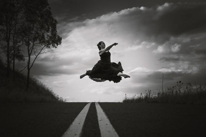 Road Dancer by AmandaGR - Lets Dance Photo Contest