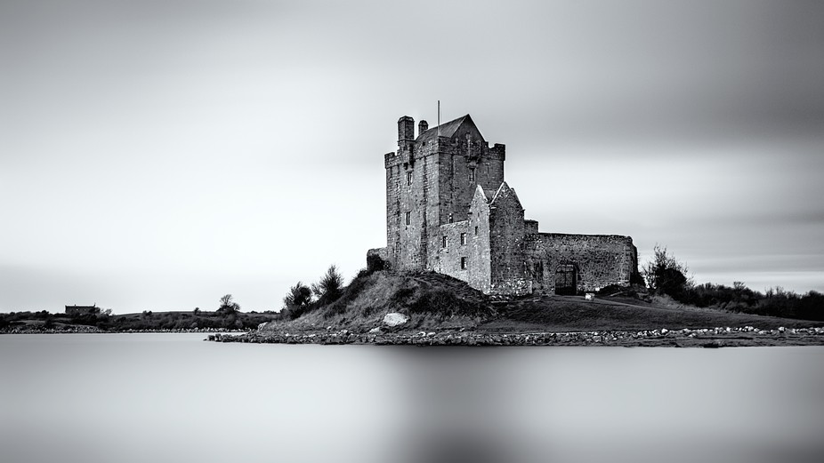 Two minute exposure of Dunguaire Castle in County Galway. 10 Stop ND filter & polarising ...