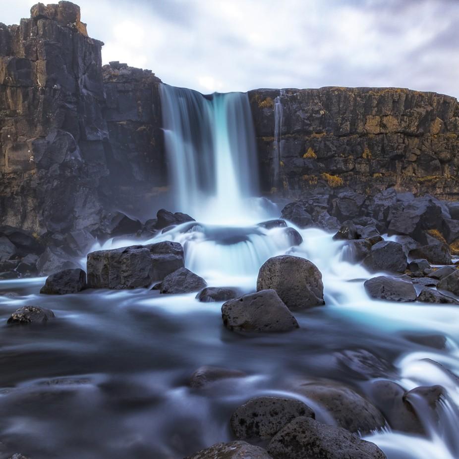 Icelandic Waterfall by Andre11 - Beautiful Waterfalls Photo Contest