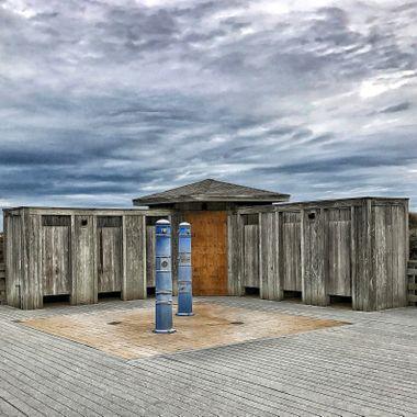 Shower area beach 1