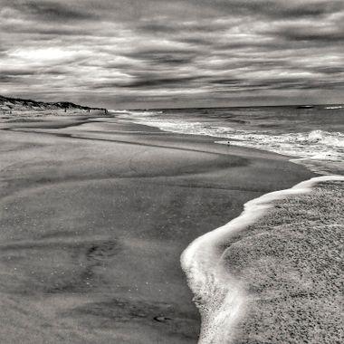 Beach Scene 1 BW