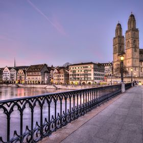 """Purple!"" Münster Bridge 
