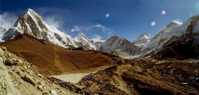 View from 5200m to the everest base camp - thepixelclub-nepal-everest