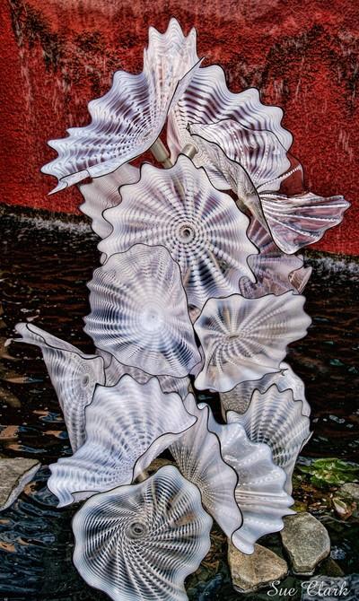 Chihuly Glass Flowers - Denver Botanic Gardens Exhibit