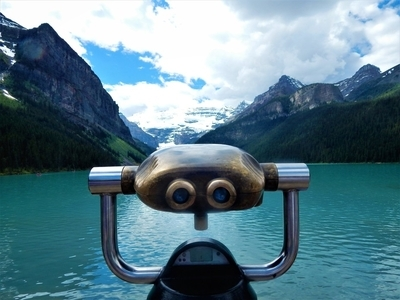 Lake Louise Looking Glass