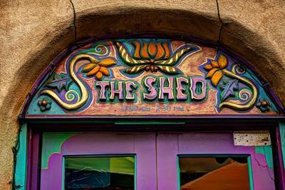 The Shed, Santa Fe door