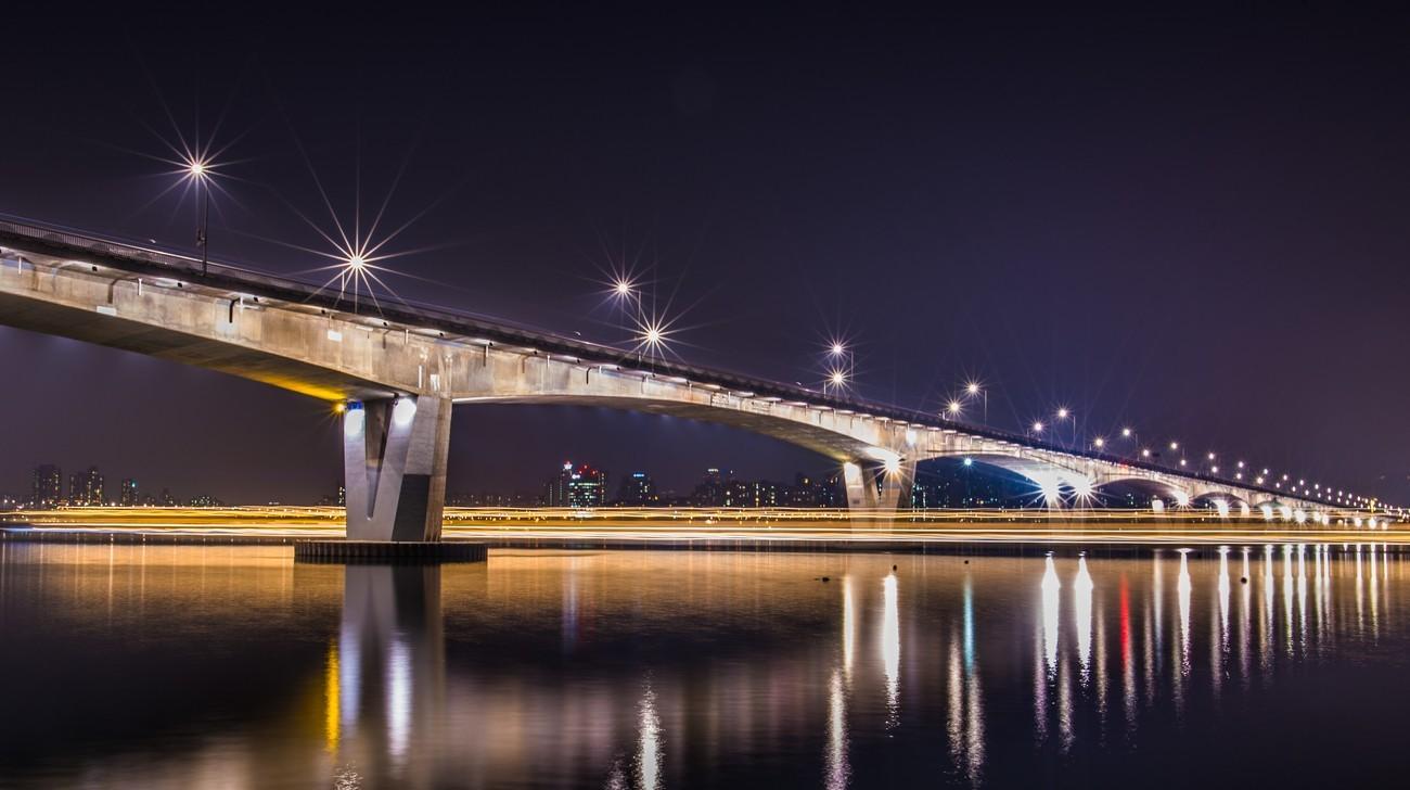 bridge architecture night - photo #3