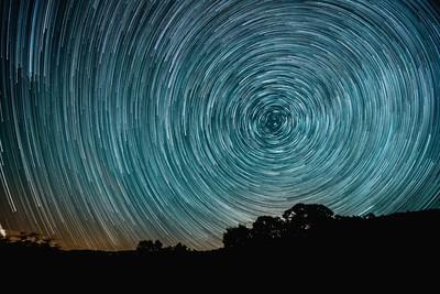 star trail Vinhais