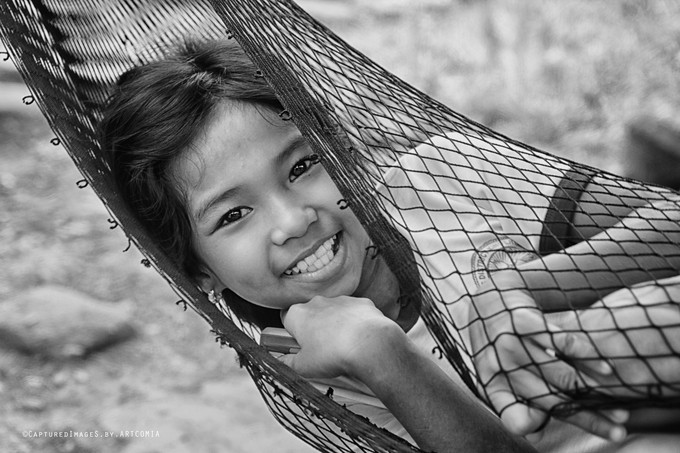 Sweet Innocence by arthurcomia - All Smiles Photo Contest