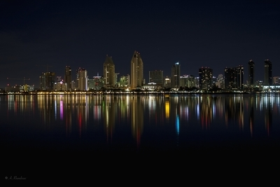 Reflection and the city.