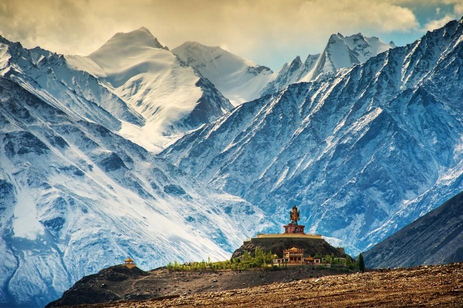 Monestary in Kashmir India