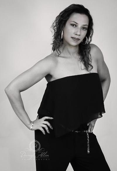 PhotoShoot Back drop   Model   Chantel