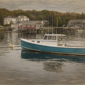 Lobster cove is in the Booth Bay Maine area. An active lobstering industry and tourism is the life blood of the community. In my editing I wanted...