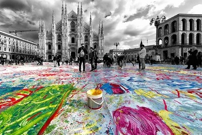 Milano, piazza Duomo