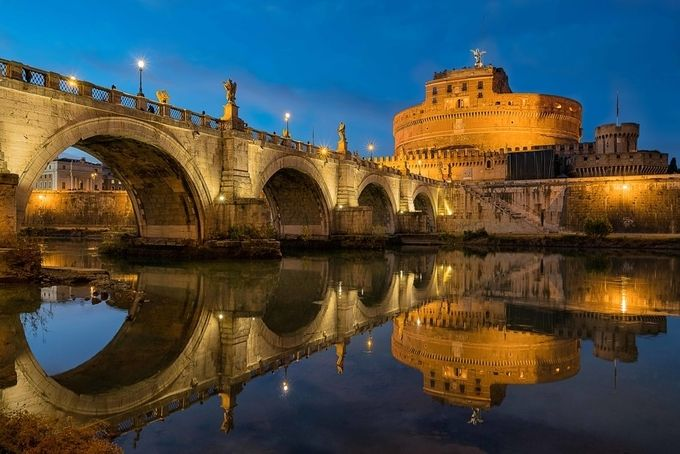 Ponte Sant'Angelo by craigniblock - Spectacular Bridges Photo Contest