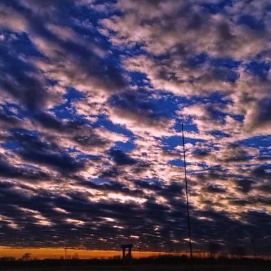 sunset at walmart