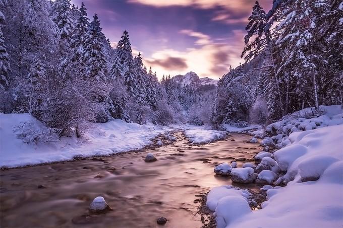 River flow by daniturphoto - Unforgettable Landscapes Photo Contest by Zenfolio
