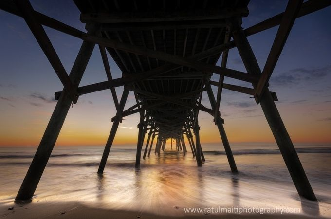 Under-the-Pier by ratulmaiti - The View Under The Pier Photo Contest