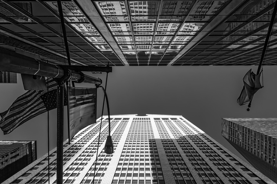 My B&W Impressions of NYC Architecture 34 of 40
