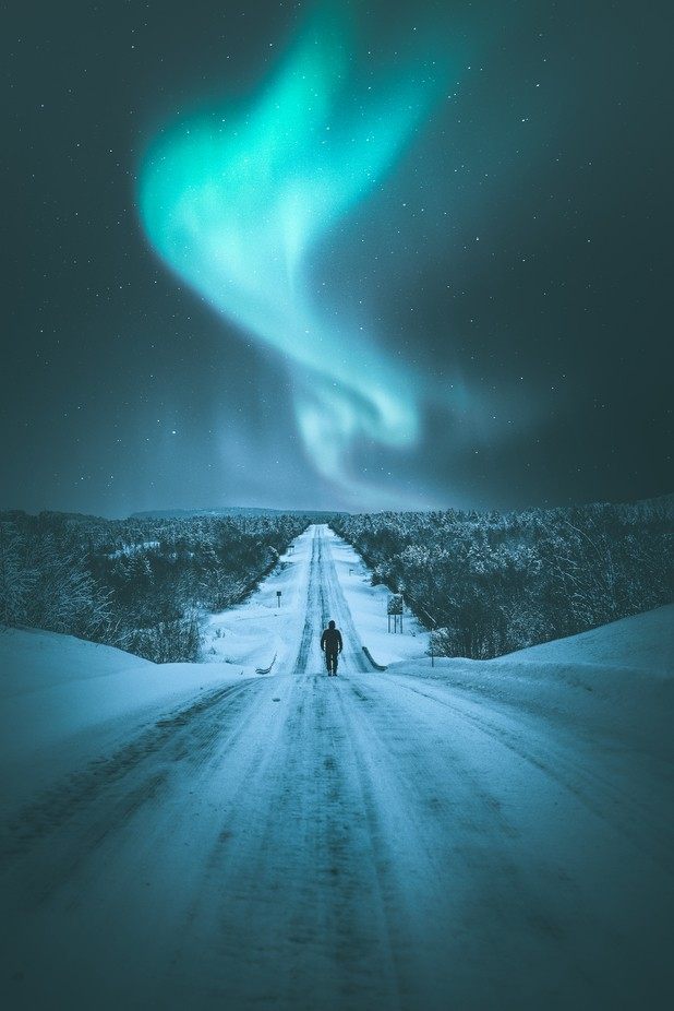 Follow the light by Eventyr - Composition And Leading Lines Photo Contest