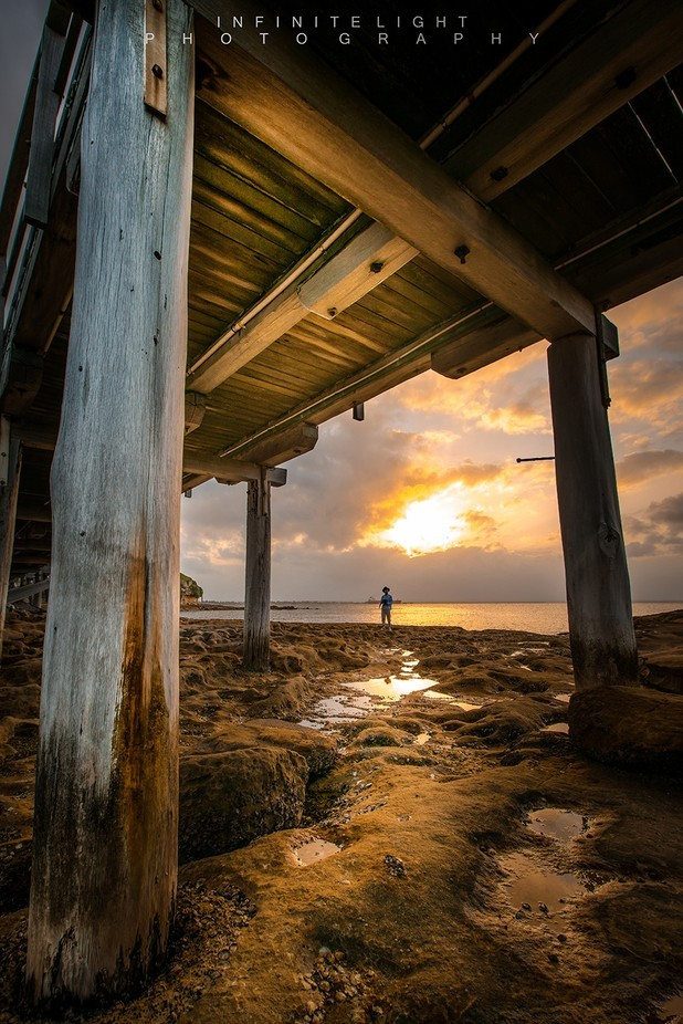 .:::The Golden Hour:::. by Marse - The View Under The Pier Photo Contest