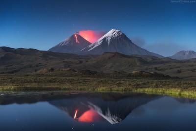 Kamchatka eruption