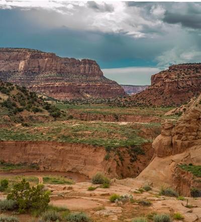 Anasazi cliffs