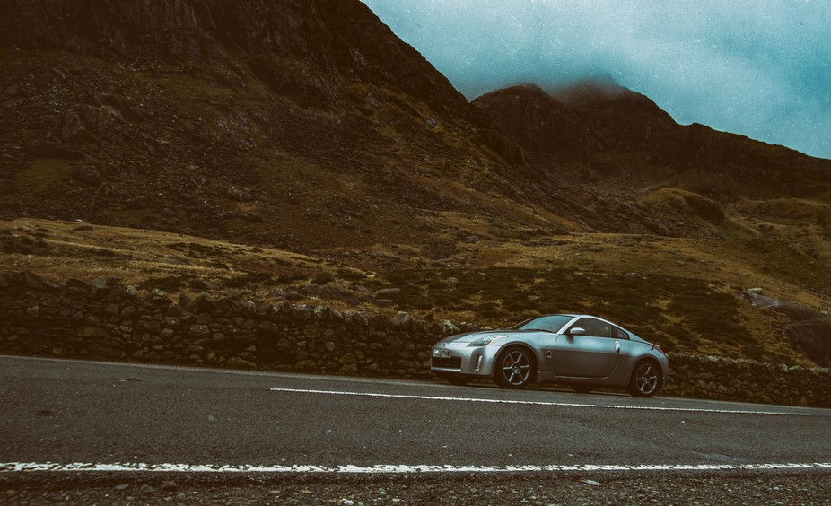 took my new car out for a bit of a spin through the countryside and explore wales a little more, ...