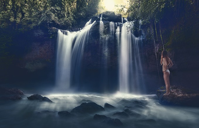 sound of nature by joecas - People And Waterfalls Photo Contest