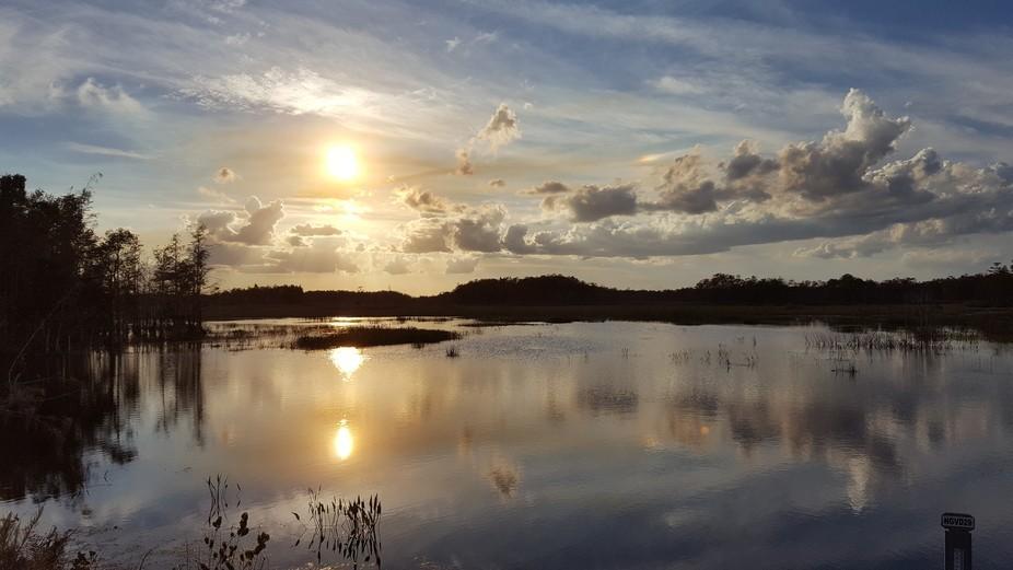 Apoxee Trail Sunset; West Palm Beach Florida