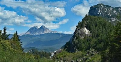 The Cheif, Mount Garibaldi Atwell Peak and Cheekeye Glacier
