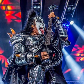 KISS - Gene Simmons - ©Chris Balow 2016 - Dow Event Center - Saginaw, MI
