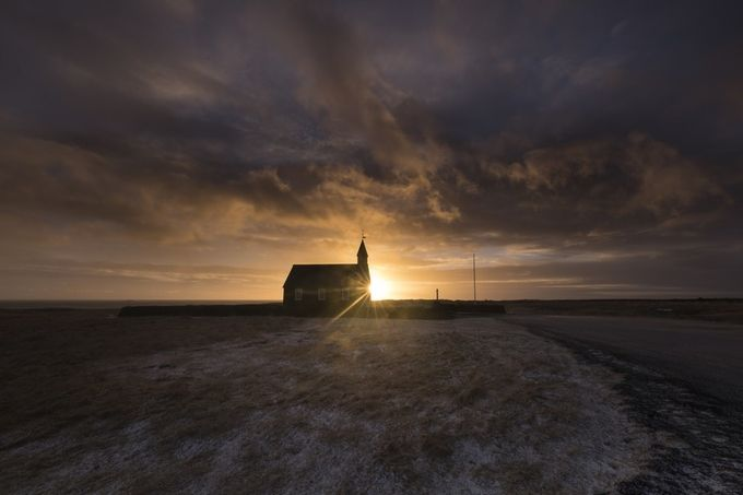 Black Church at Búðir by Jonrunar - Flares 101 Photo Contest