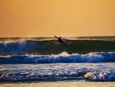 Sunset Surf Cornwall