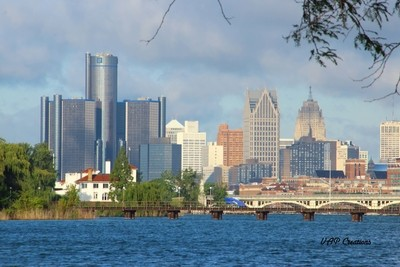 Downtown Detroit, Michigan.