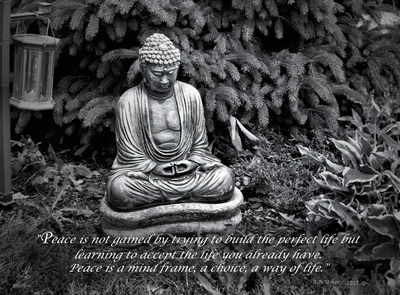 Finding Peace (With quote)