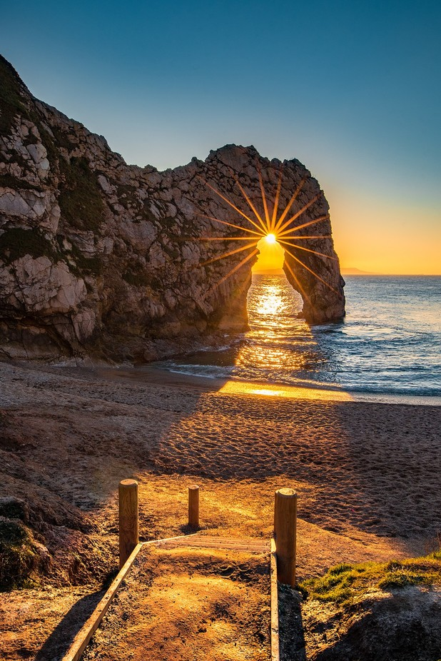 Durdle Door Steps by Bynack - Flares And Glitter Photo Contest