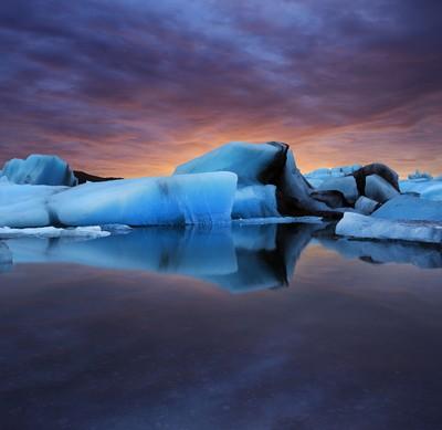 Iceberg Lake Sunrise
