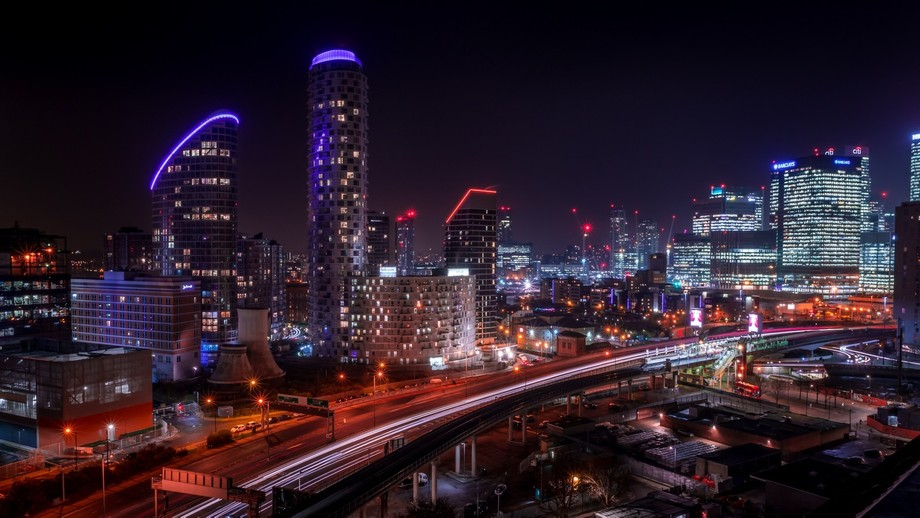 Was working nights at an office block, and had access to the roof so it seemed rude not to take m...