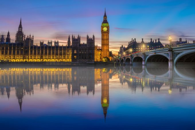 Big Ben at Blue hour by alechickman - London Photo Contest