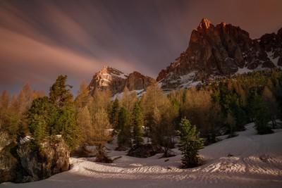 Sunrise in Dolomites II