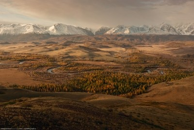 Fall in Altai mountains