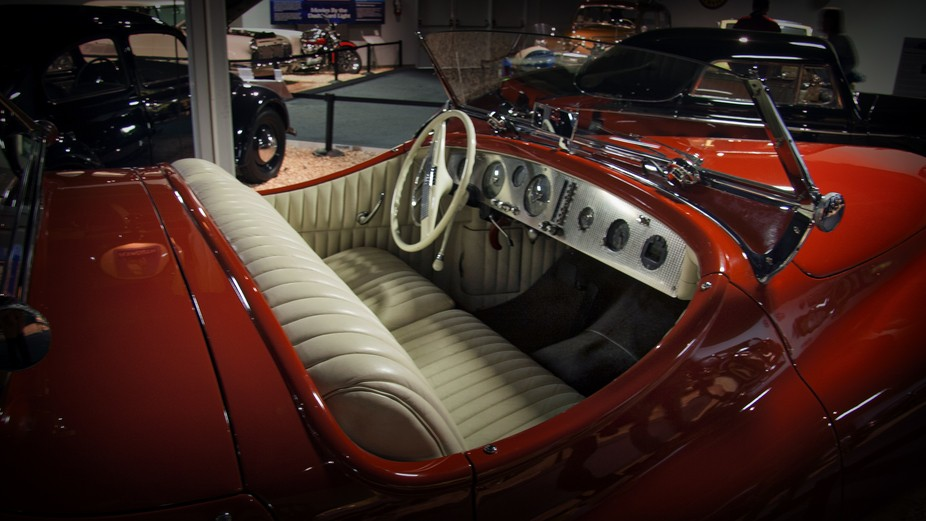 Lana Turner's Car, at National Auto Museum