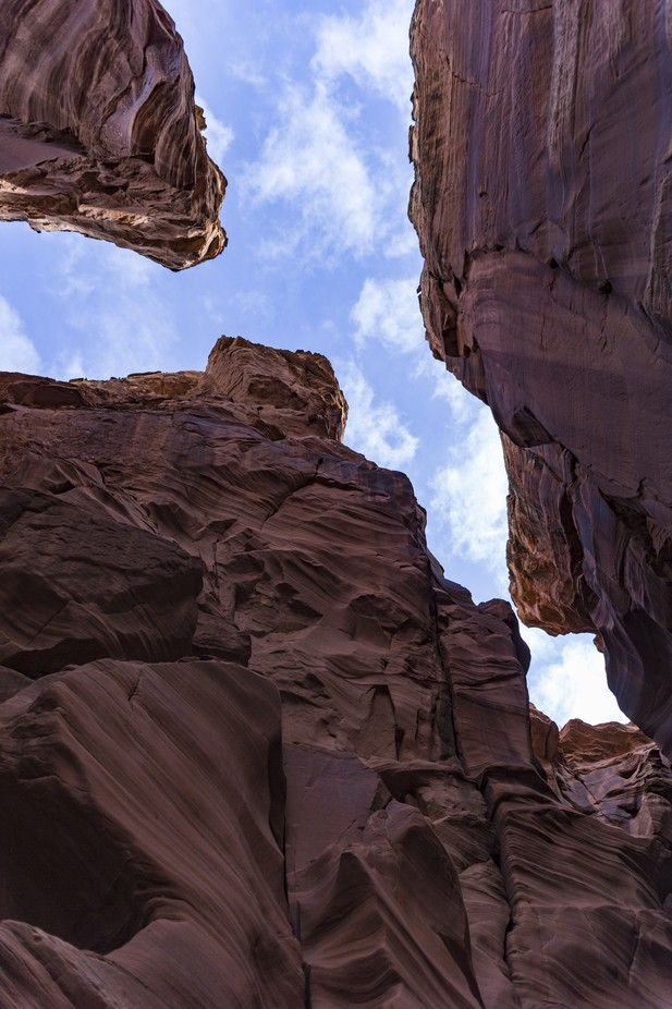 A recently opened and new slot canyon in Arizona known as Canyon-X near the original Antelope Canyon.