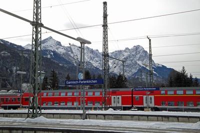Garmisch-Partenkirchen in Winter