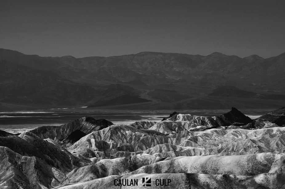 This is another version of the photo I took in Death Valley, but this one is black and white. Enjoy!