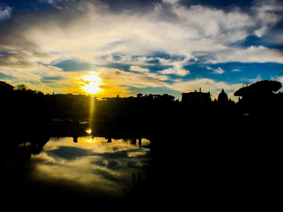 I did this picture using my smartphone with wide-angle lens and tripod. Behind there is St Peter&...