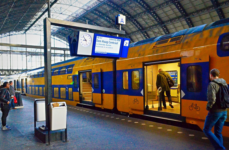 Taken in the Amsterdam Centraal