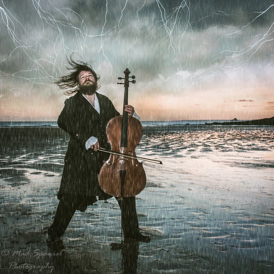 Cello Storm by helengadd - Creative Reality Photo Contest