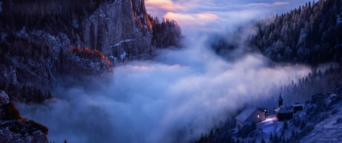 Alone Against all Darkness II by adrian-borda - High Vantage Points Photo Contest